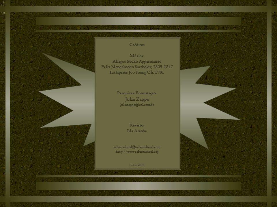Julia Zappa Créditos Música: Allegro Molto Appassinateo