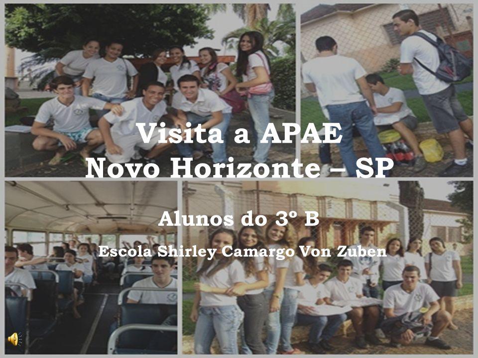 Visita a APAE Novo Horizonte – SP