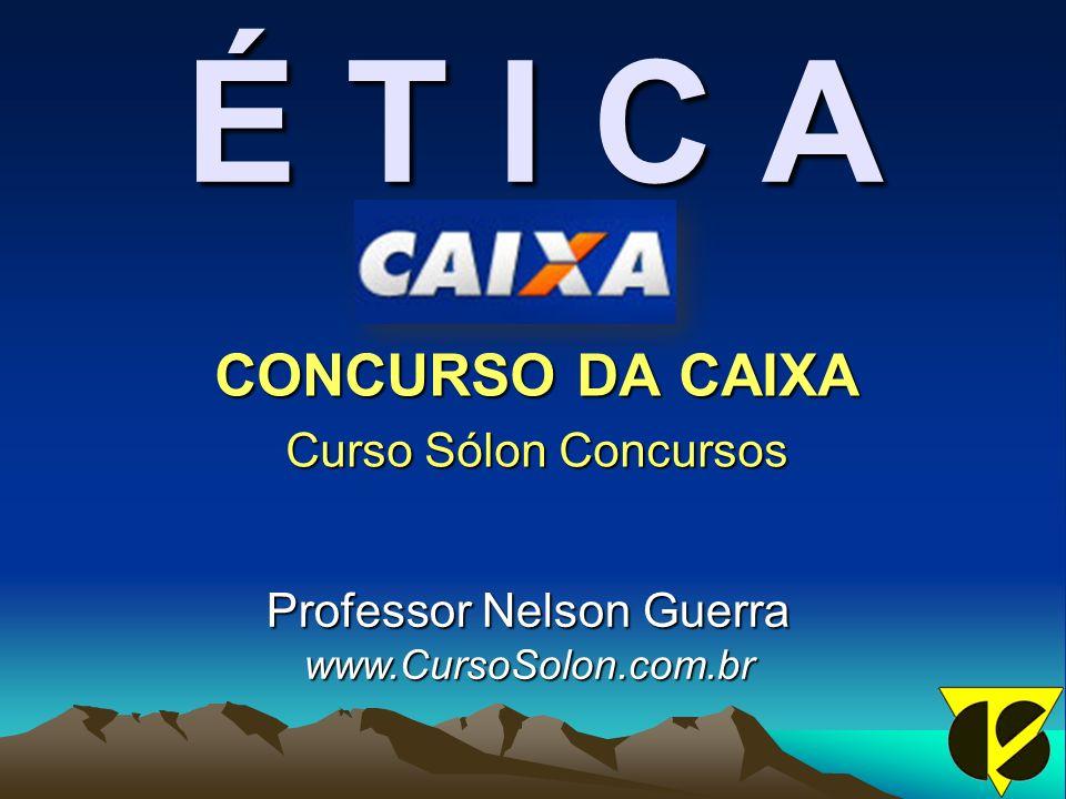 CONCURSO DA CAIXA Curso Sólon Concursos