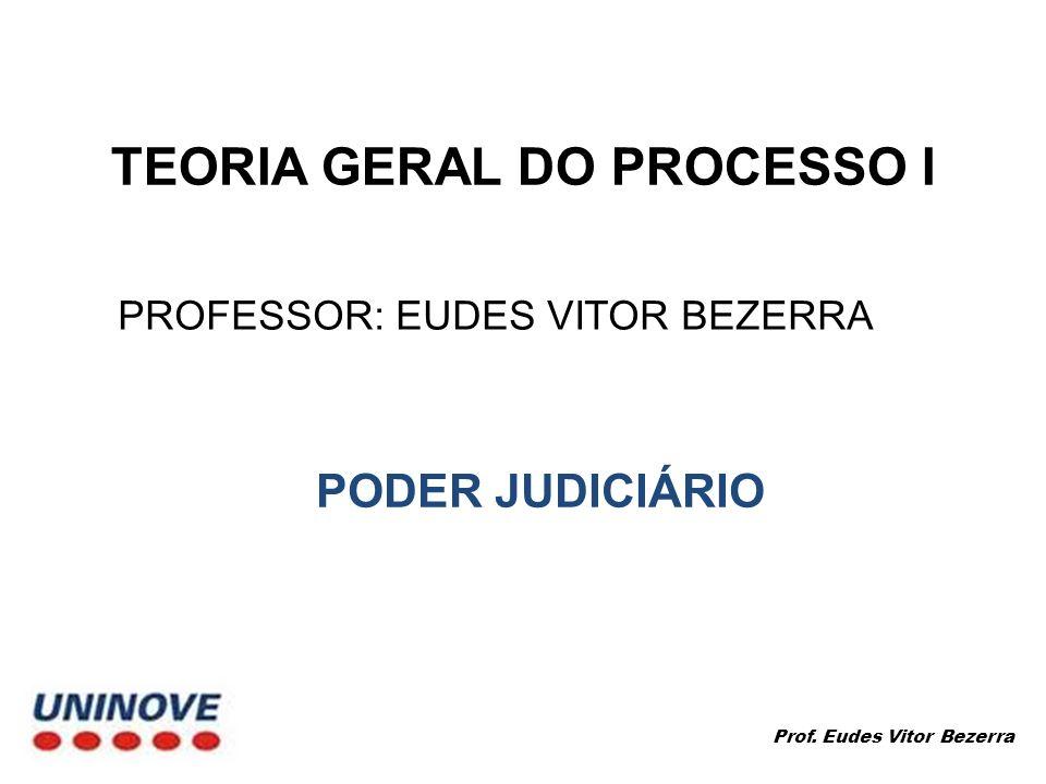 TEORIA GERAL DO PROCESSO I