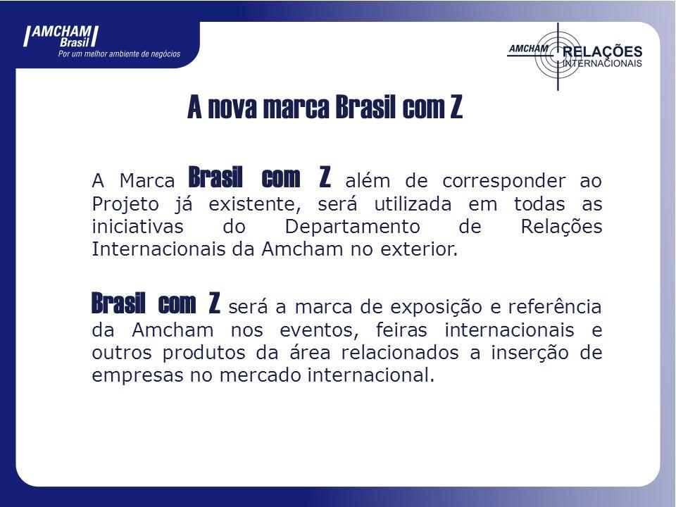 A nova marca Brasil com Z
