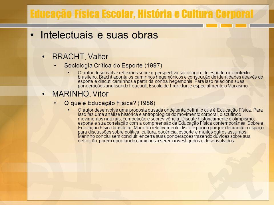 Educação Física Escolar, História e Cultura Corporal