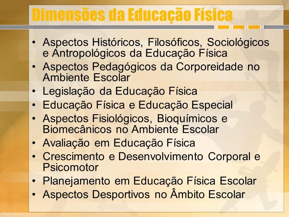 Dimensões da Educação Física