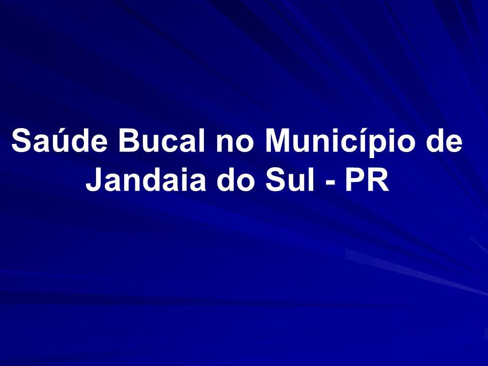 Saúde Bucal no Município de Jandaia do Sul - PR
