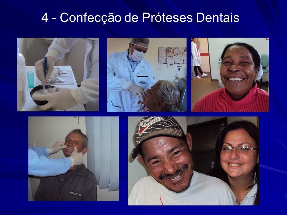 4 - Confecção de Próteses Dentais
