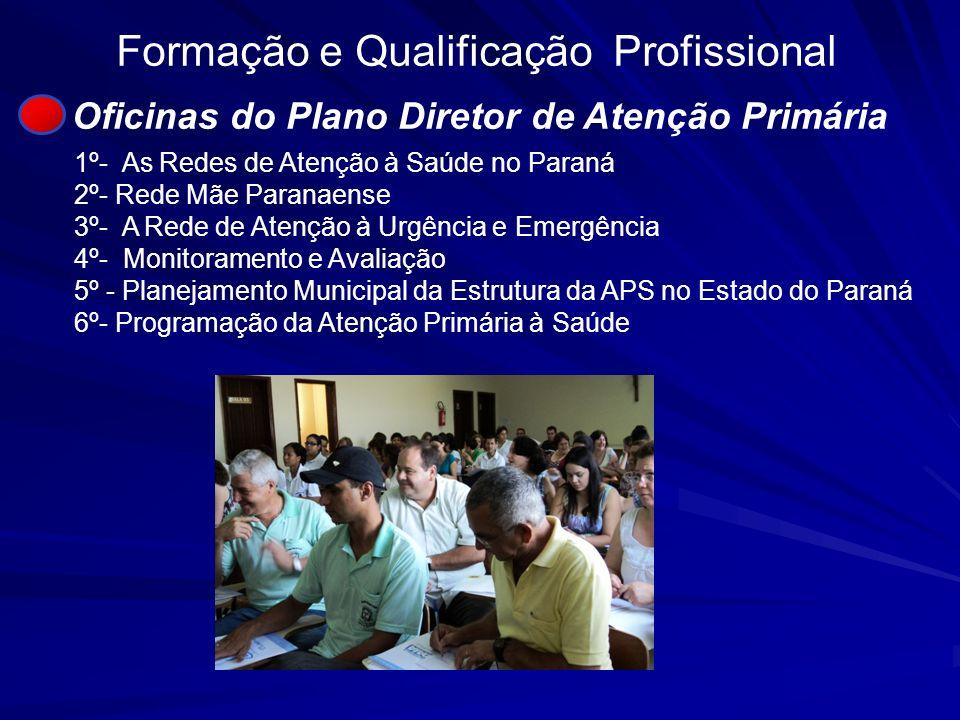 Oficinas do Plano Diretor de Atenção Primária