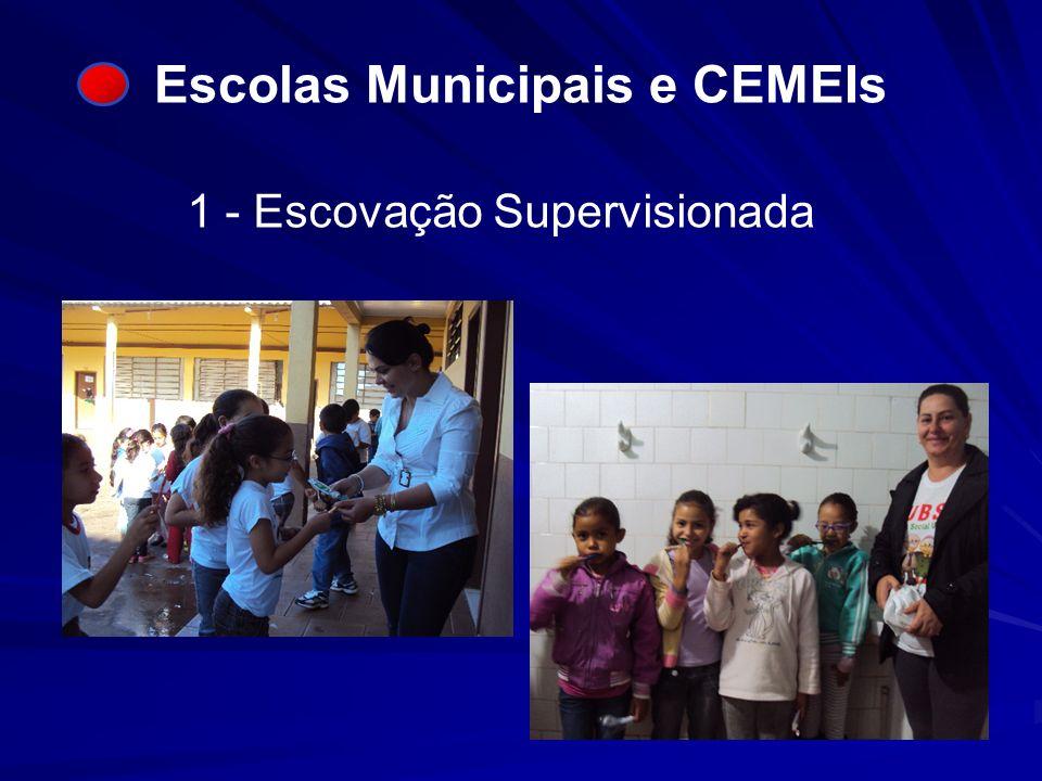 Escolas Municipais e CEMEIs