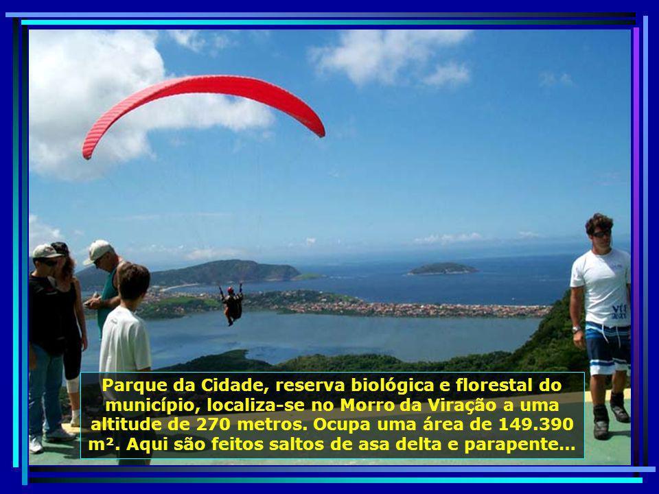 P0012321 - NITERÓI - VÔO DE PARAPENTE NO PQUE. DA CIDADE-700
