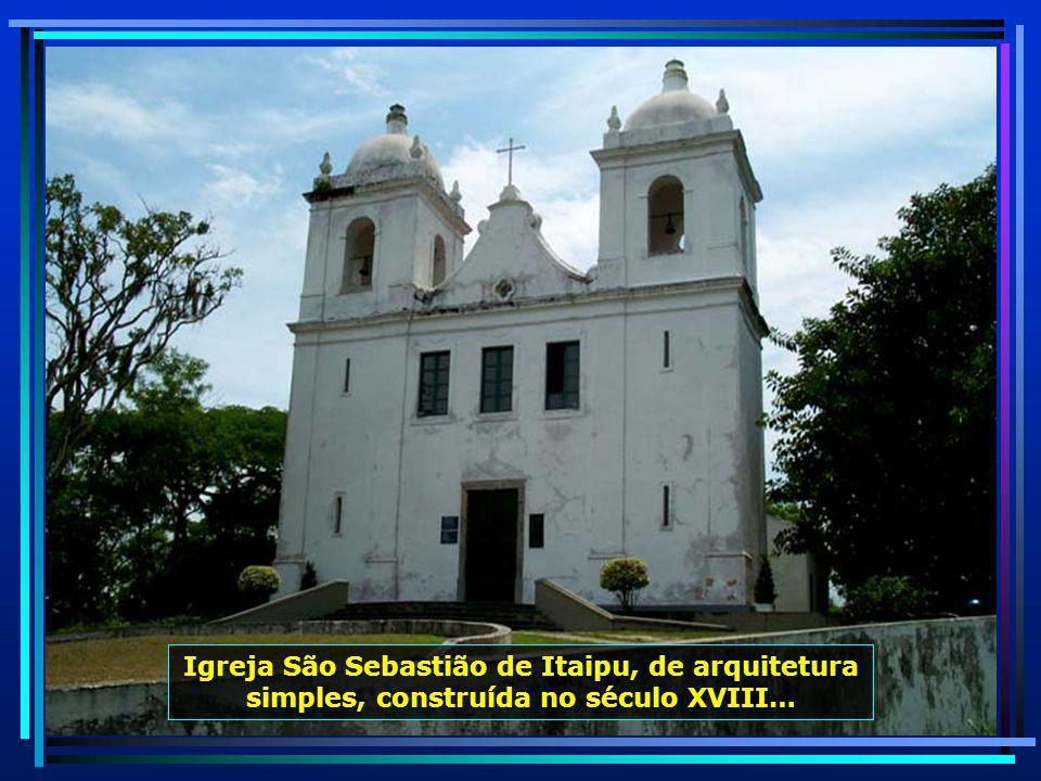 P0012042 - NITERÓI - IGREJA DE SÃO SEBASTIÃO DE ITAIPU-700
