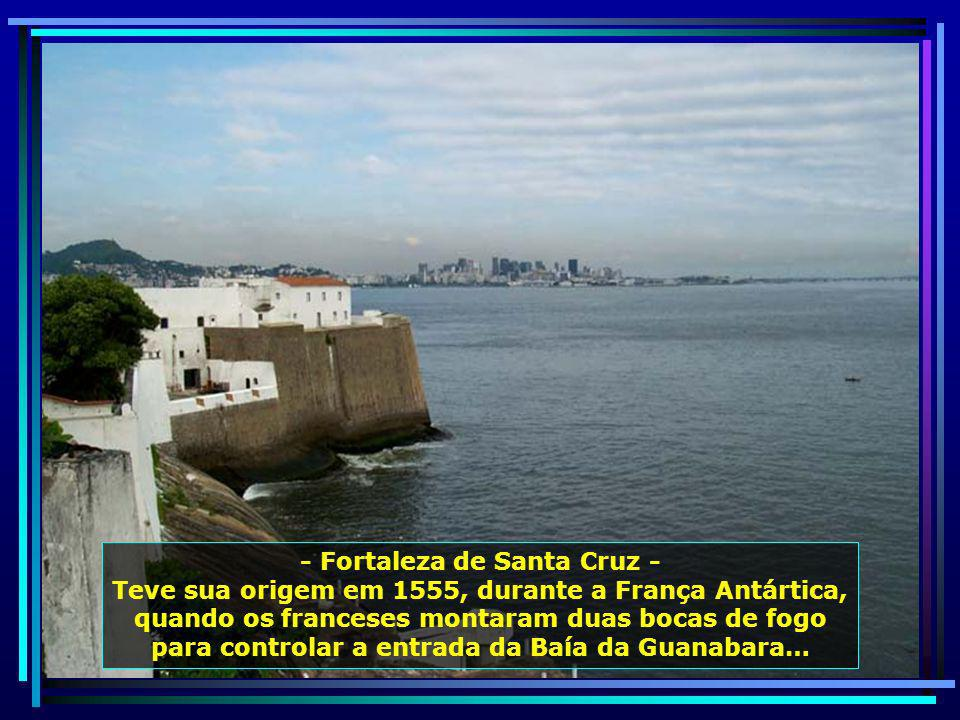 - Fortaleza de Santa Cruz -