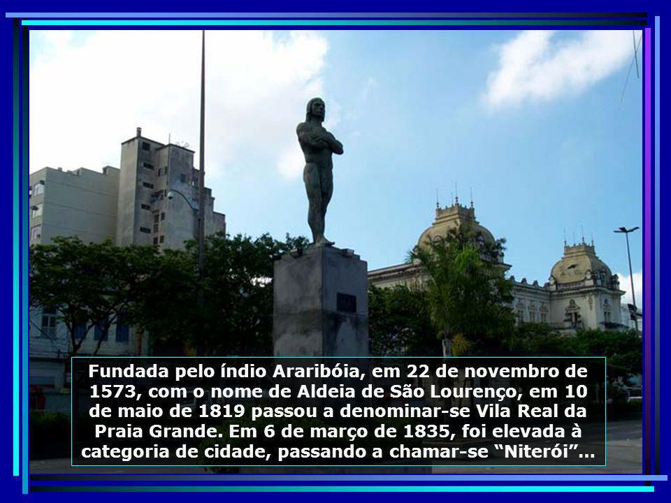 P0012269 - NITERÓI - ESTÁTUA DO ÍNDIO ARARIBÓIA-700