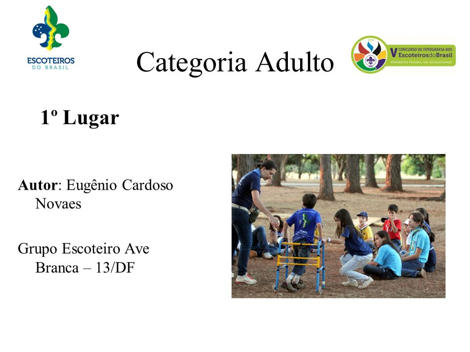 Categoria Adulto 1º Lugar
