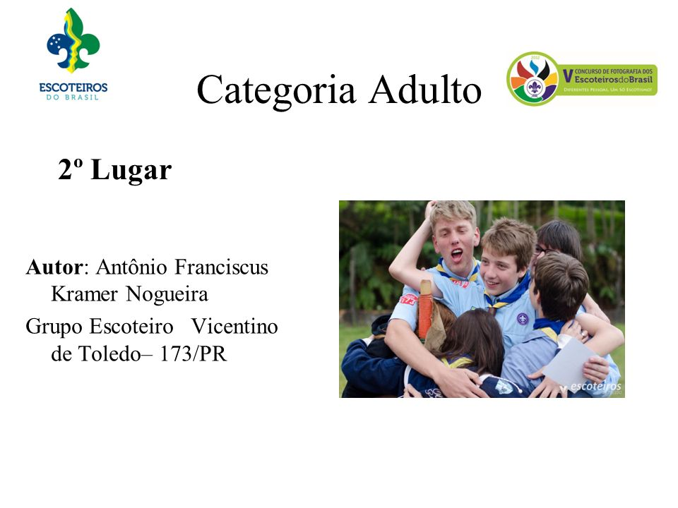 Categoria Adulto 2º Lugar