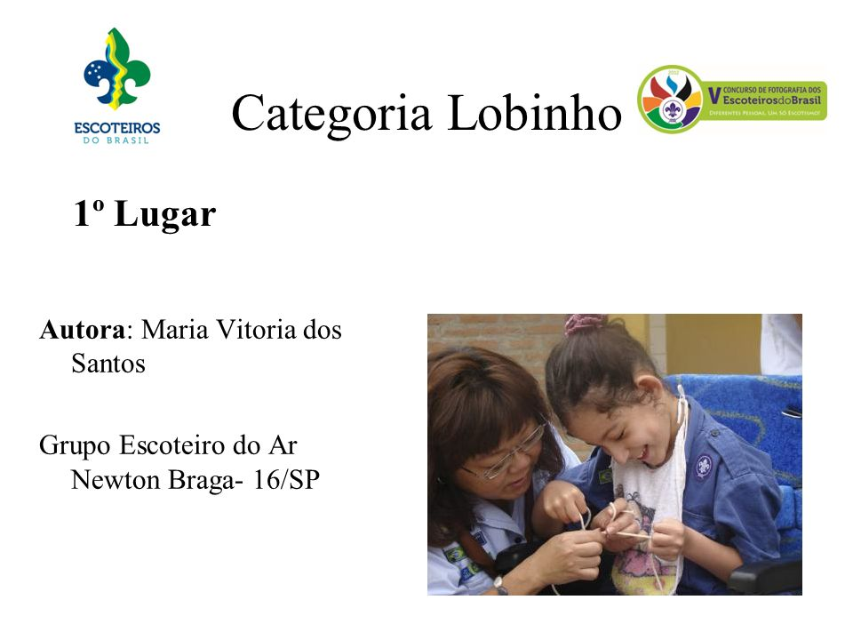 Categoria Lobinho 1º Lugar