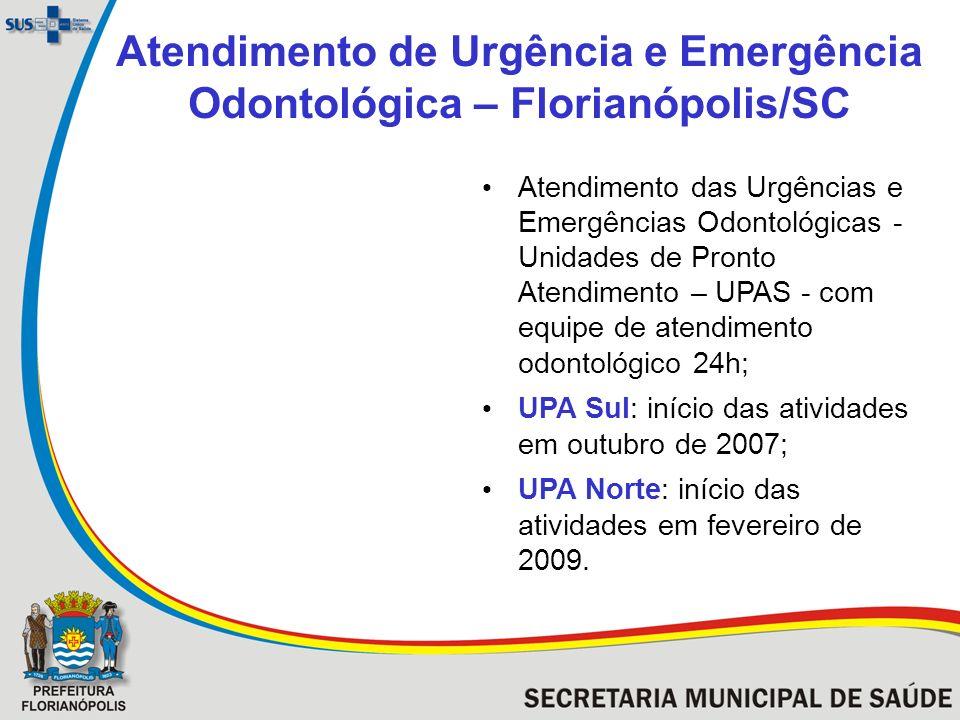 Atendimento de Urgência e Emergência Odontológica – Florianópolis/SC