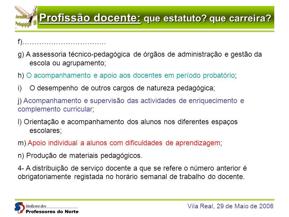 f)…………………………….. g) A assessoria técnico-pedagógica de órgãos de administração e gestão da escola ou agrupamento;