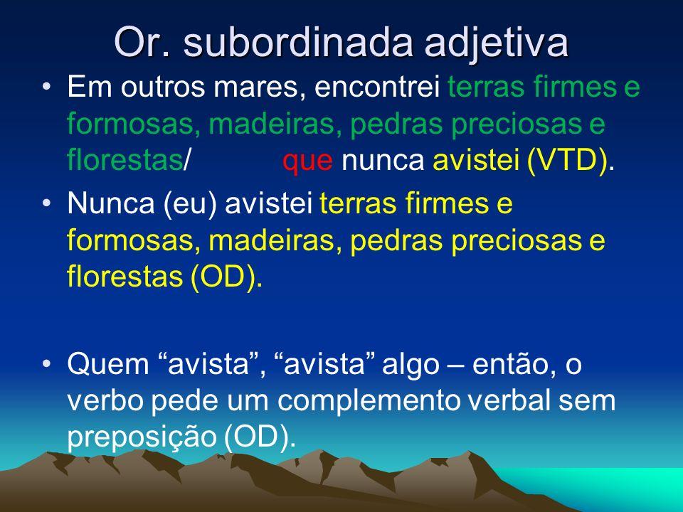 Or. subordinada adjetiva