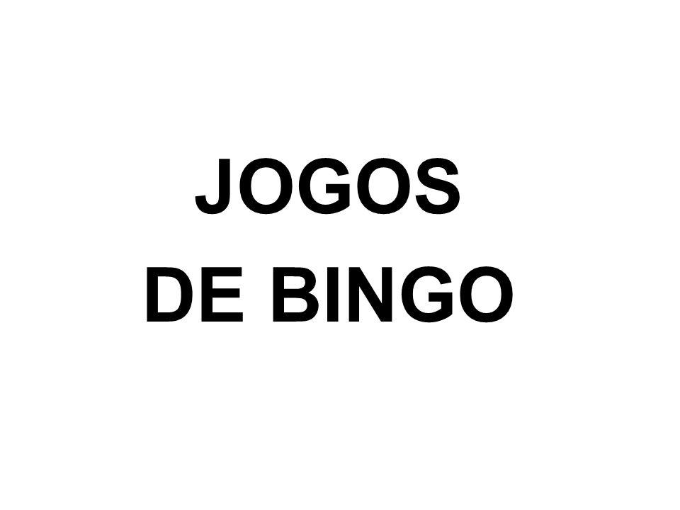 JOGOS DE BINGO
