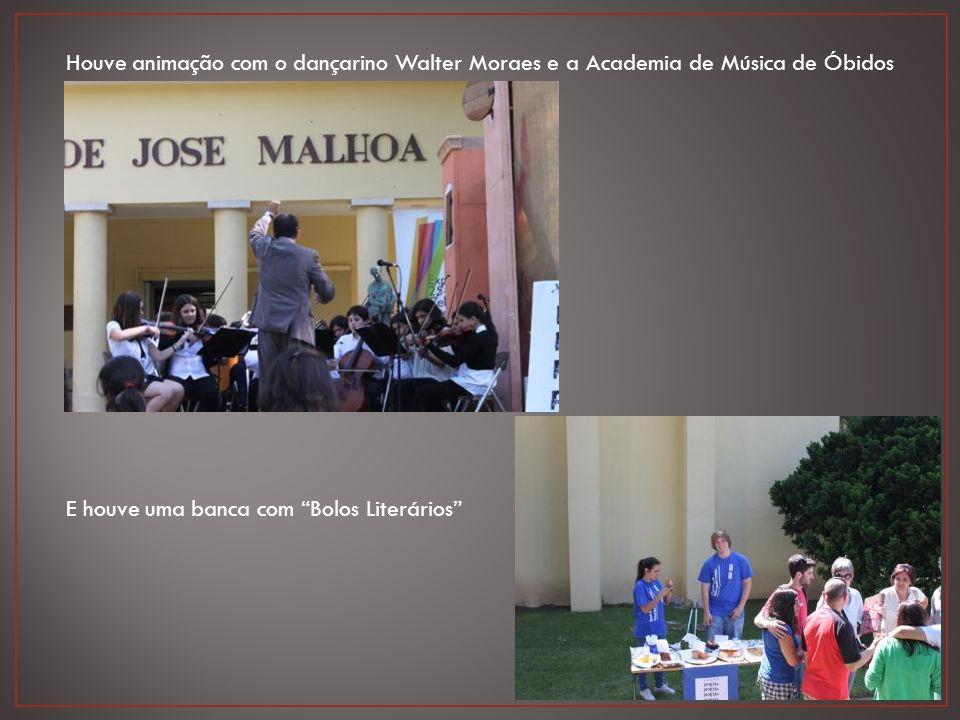 Houve animação com o dançarino Walter Moraes e a Academia de Música de Óbidos