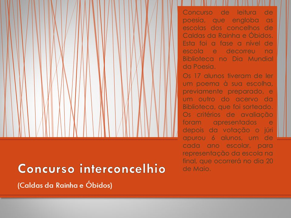 Concurso interconcelhio