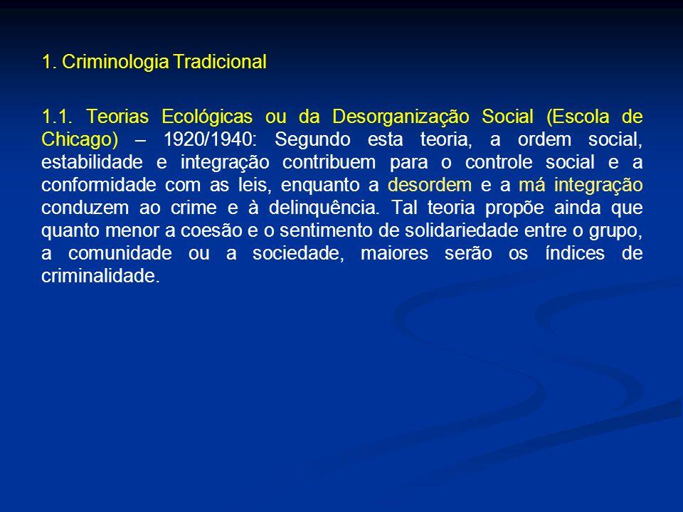 1. Criminologia Tradicional