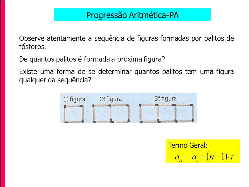 Progressão Aritmética-PA