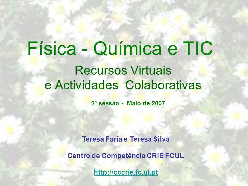 Recursos Virtuais e Actividades Colaborativas