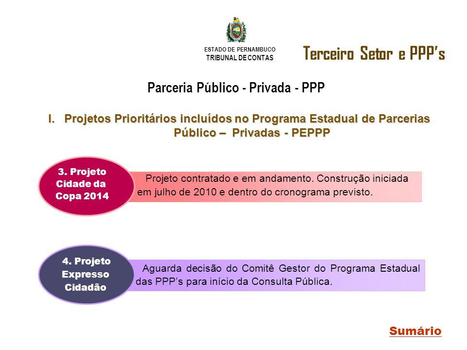 Terceiro Setor e PPP's Parceria Público - Privada - PPP