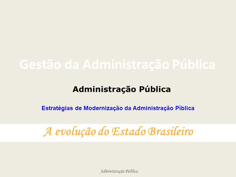 Gestão da Administração Pública