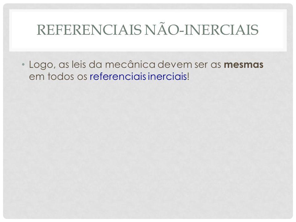 Referenciais não-inerciais