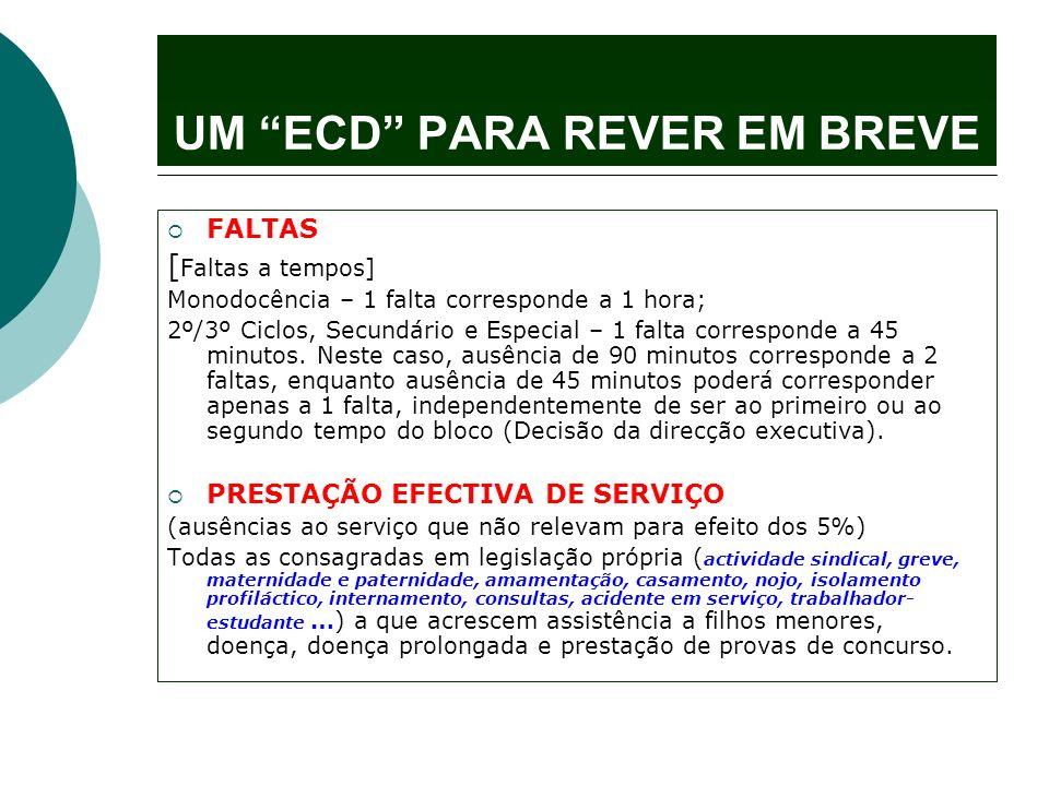 UM ECD PARA REVER EM BREVE