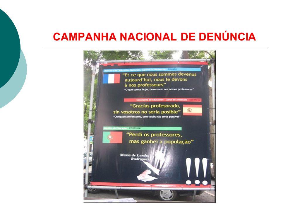 CAMPANHA NACIONAL DE DENÚNCIA