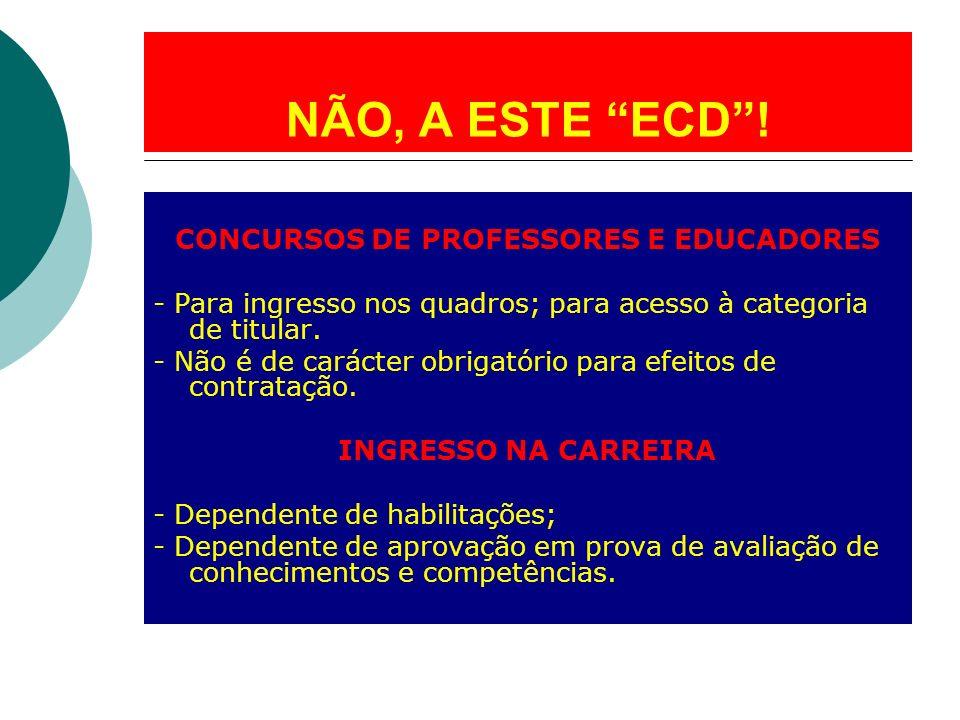CONCURSOS DE PROFESSORES E EDUCADORES