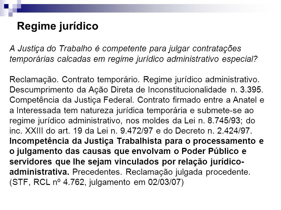 Regime jurídico