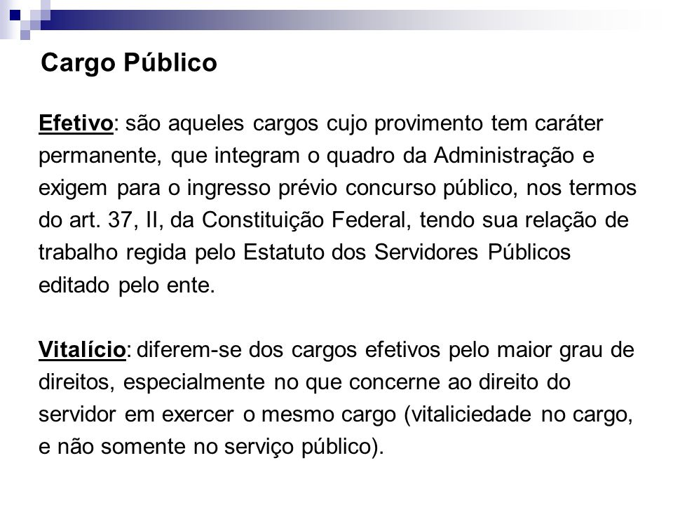 Cargo Público