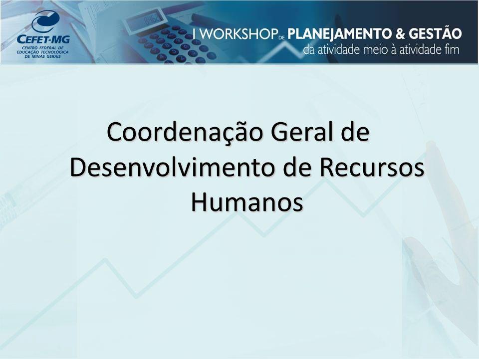Coordenação Geral de Desenvolvimento de Recursos Humanos