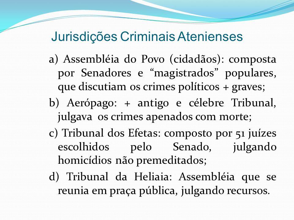 Jurisdições Criminais Atenienses