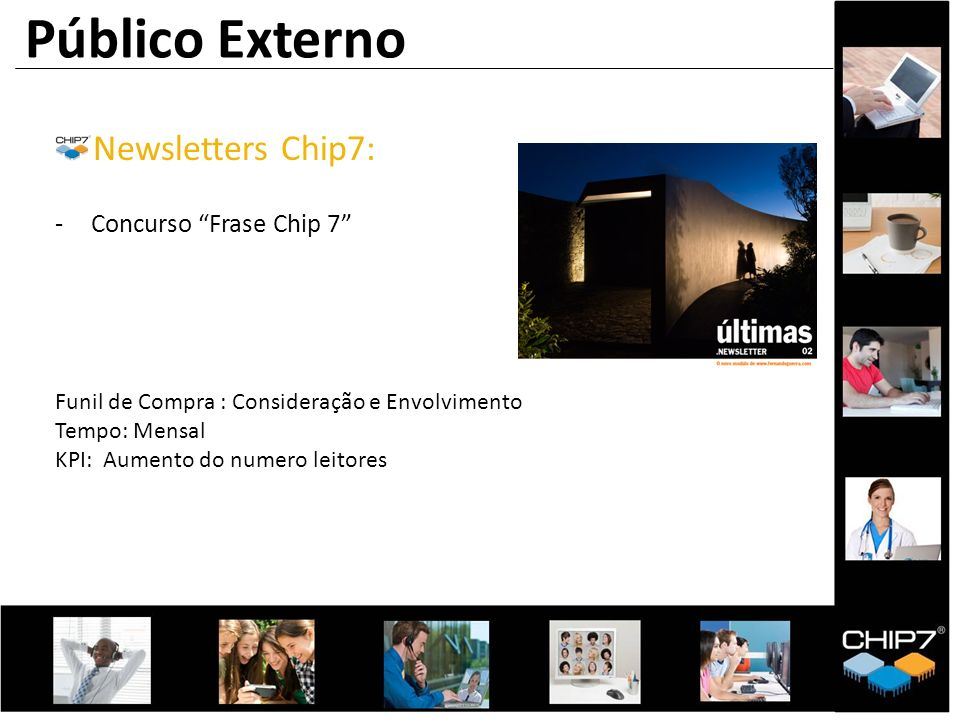 Público Externo Newsletters Chip7: Concurso Frase Chip 7