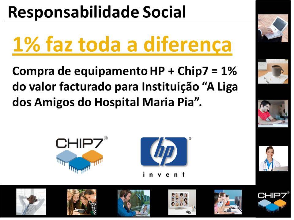 1% faz toda a diferença Responsabilidade Social