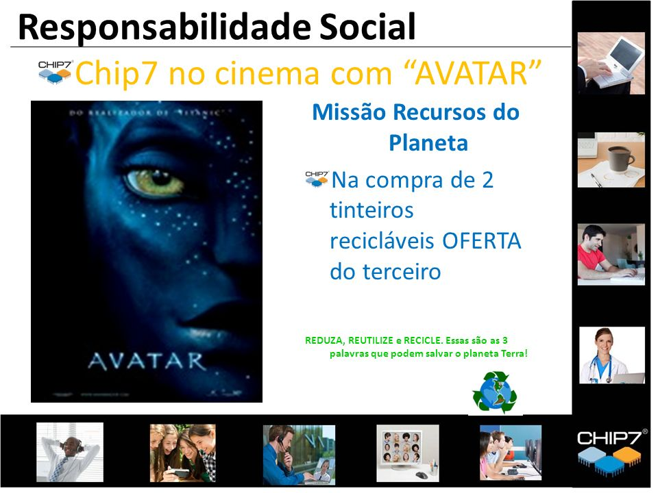 Chip7 no cinema com AVATAR