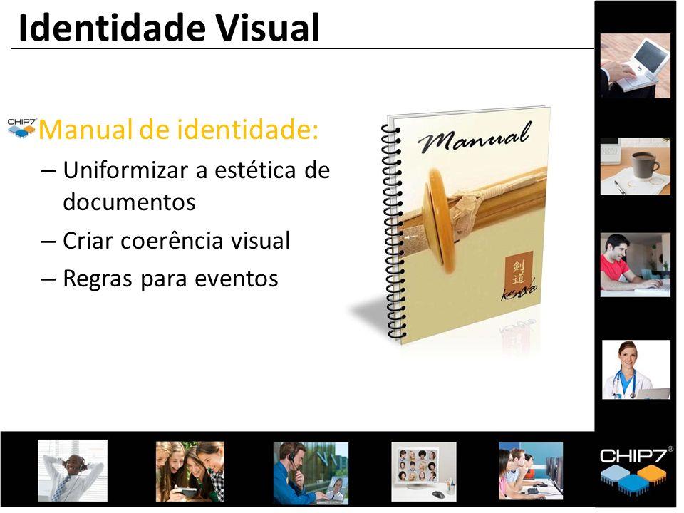 Identidade Visual Manual de identidade: