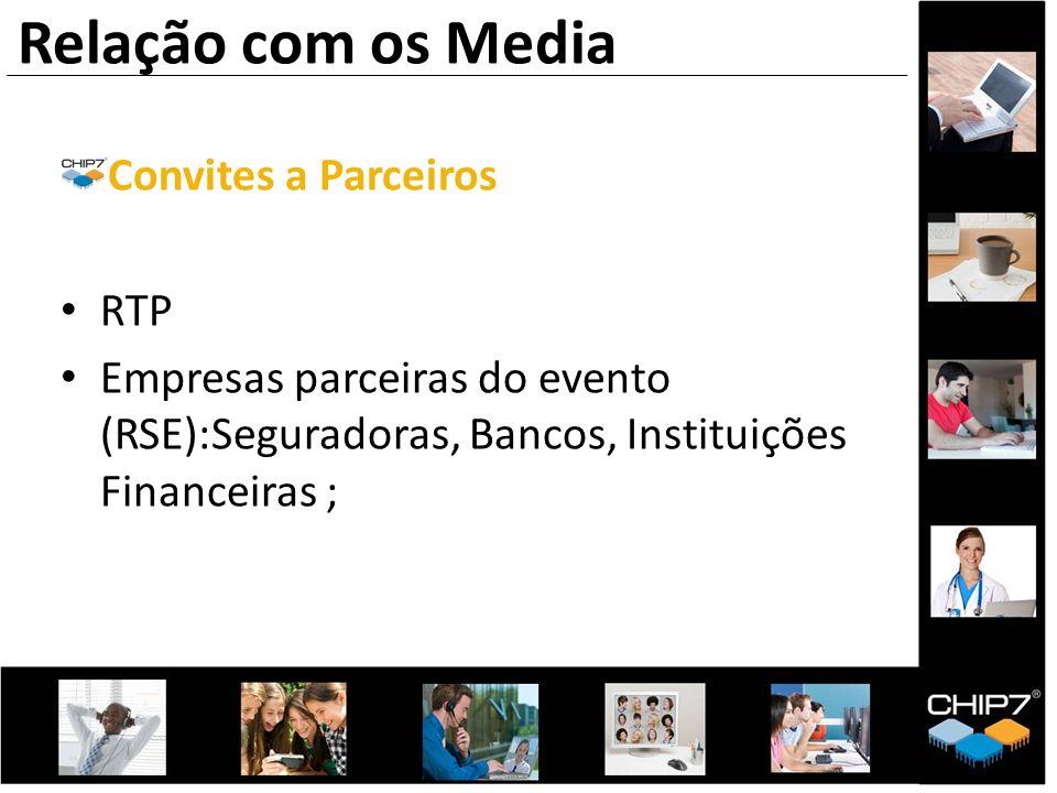 Relação com os Media Convites a Parceiros RTP