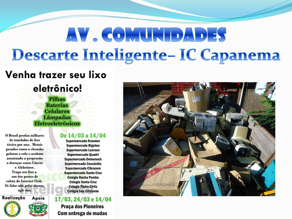Descarte Inteligente– IC Capanema