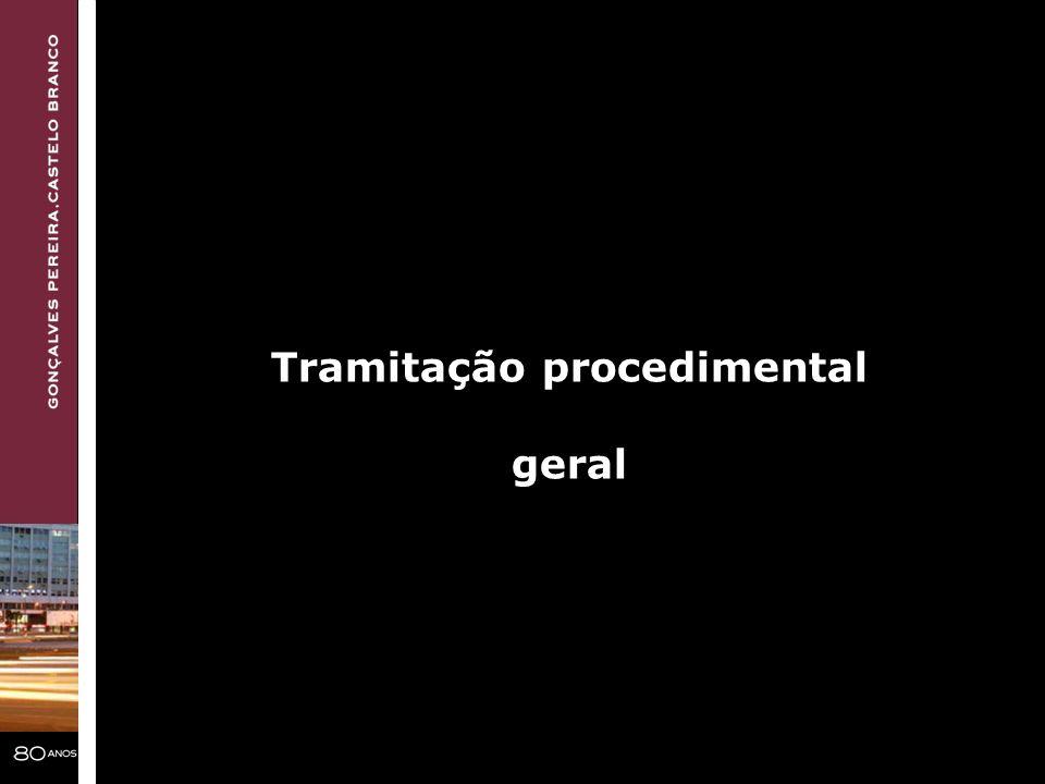 Tramitação procedimental