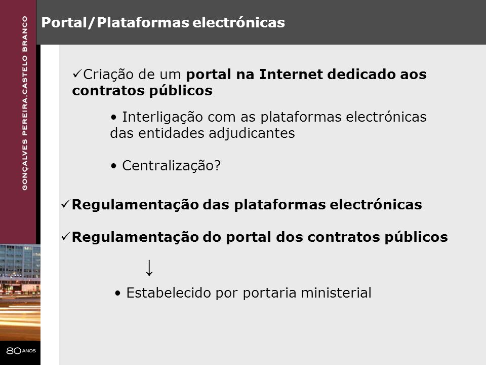 ↓ Portal/Plataformas electrónicas