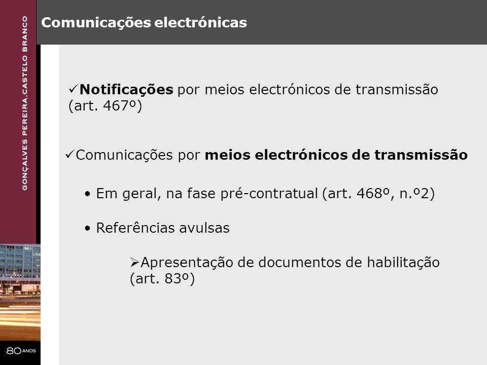 Comunicações electrónicas