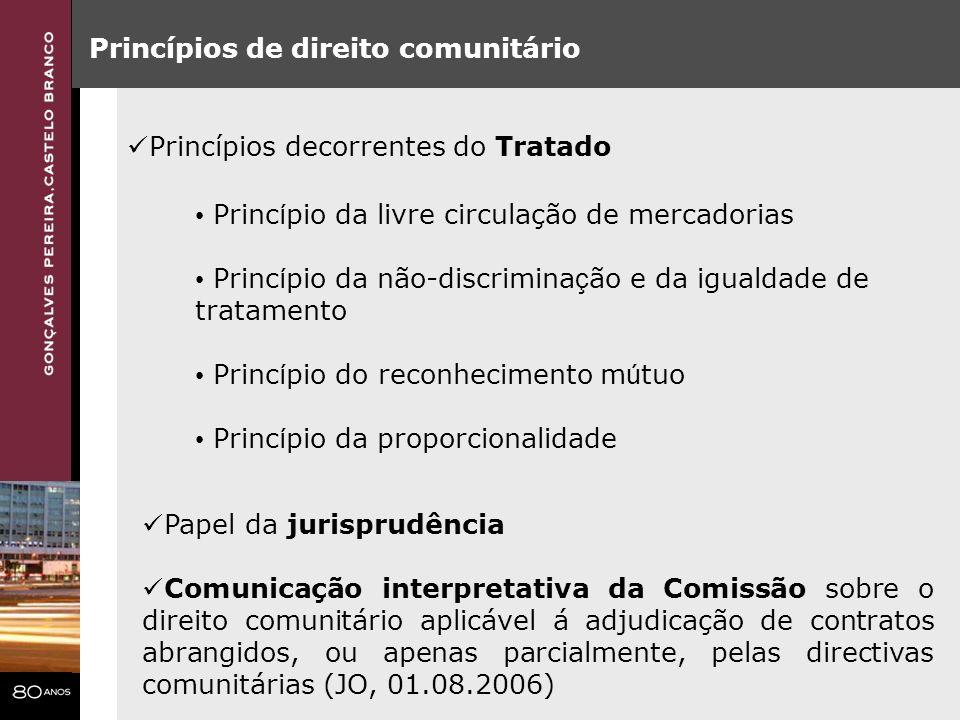 Princípios de direito comunitário