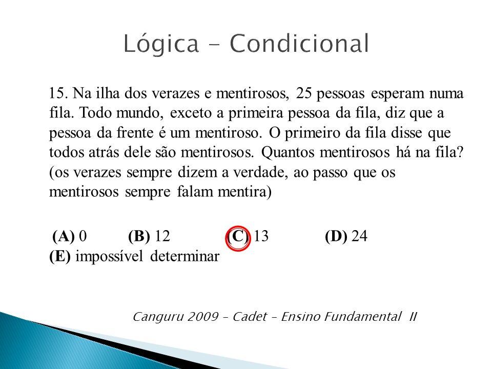 Lógica - Condicional