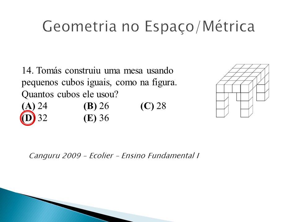 Geometria no Espaço/Métrica