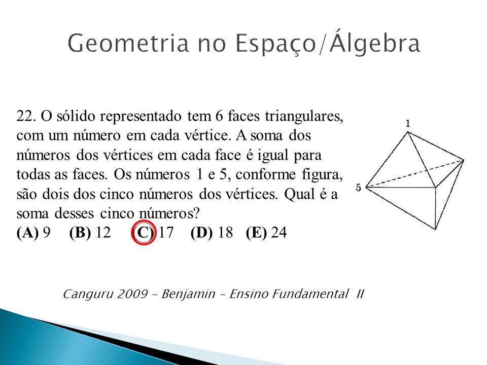 Geometria no Espaço/Álgebra